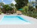 La piscine, un vrai moment de détente au cour de votre journée de travail