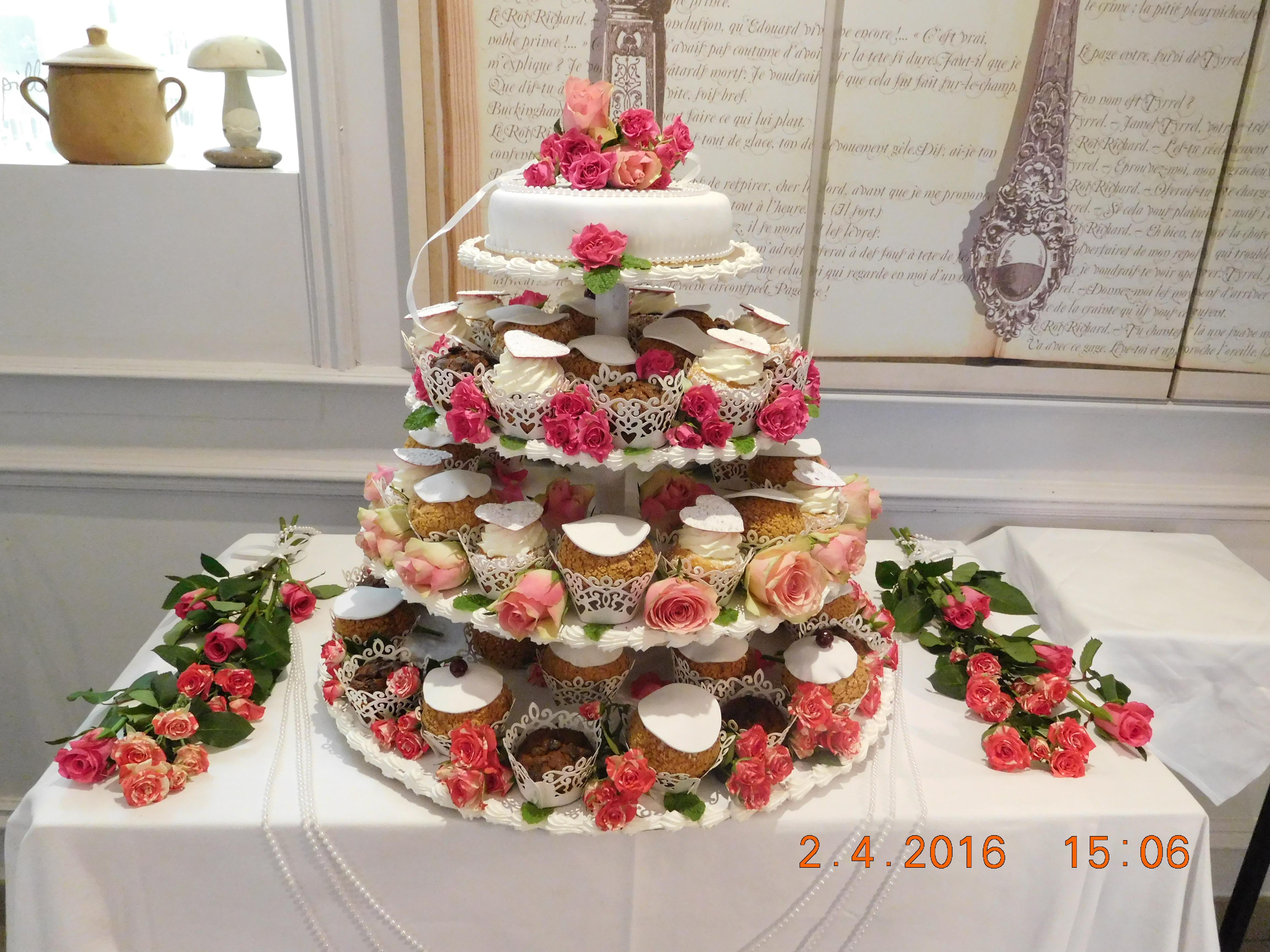 Pièce Montée cupe cake